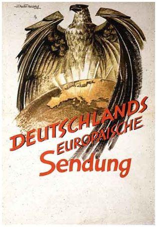 deutschlands-europasiche-sendung-propaganda-poster 1942