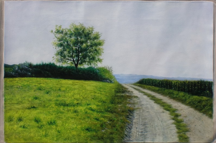 Eltville 2012 © by Julian S. Bielicki 120x80cm oil in canvas
