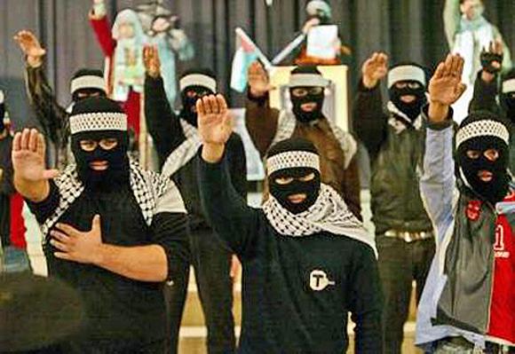 Hamas-Mitglieder in Gaza, Oktober 2006