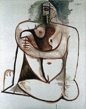 Picasso_Femme_accroupi_1960