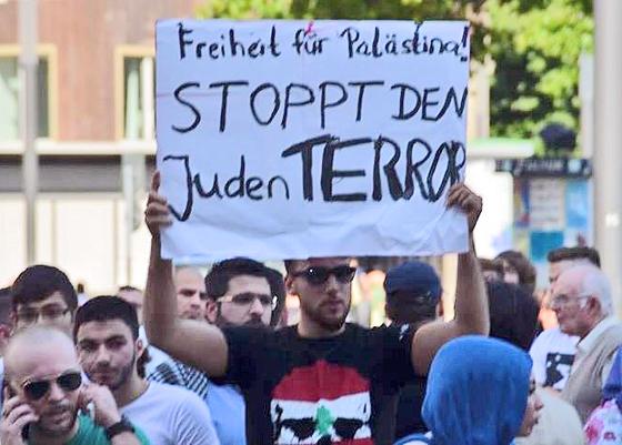 Kein Antisemitismus, nur »Israelkritik«: Antiisraelische Demonstration in Bochum, Juli 2014